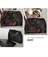 Vintage L and M Rigid Reversible Handbag Vintage Purse (Inventory #HB112) - $60.00