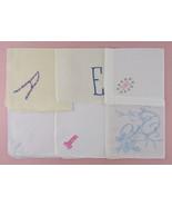 Choice of Vintage Monogram A E H M or P Hankies (Inventory #Monogram23) - $12.00