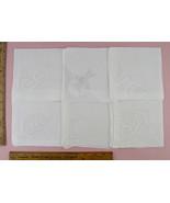 Choice of Vintage Monogram Handkerchiefs Monograms G, M, W, and F (#Mono... - $28.00