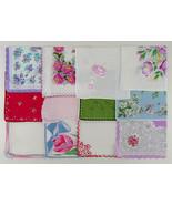 Vintage Hanky Lot of 1 Dozen Assorted Vintage Hankies Handkerchiefs  (Lo... - $70.00