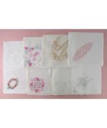 Choice of Vintage Monogram Handkerchiefs  (#Monogram3) Some have sold, s... - $38.00