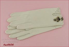 Vintage Crescendoe Ladies Gloves Mint in Package Size 6 1/2 (Inventory #M4606) - $12.00