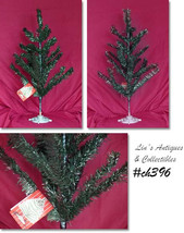Vintage 2 Feet Tall Green Vinyl Christmas Tree Made in Italy (Inventory ... - €79,00 EUR