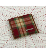 Longaberger Orchard Park Plaid Mirror Holder with Mirror (Inventory #E088) - $15.00