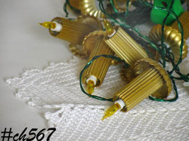Two Sets Vintage Italian Christmas Candle Lights at Lin's Antiques (Item #CH567) - $48.00