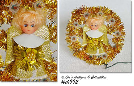 Vintage Golden Angel Holiday Christmas Light at Lin's Antiques (Inventory #CH992 - $28.00