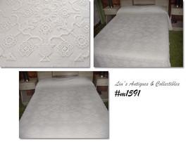 Vintage George Washington's Choice Chenille Bedspread by Bates (Inventor... - $125.00
