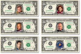 Star Trek - Captain's Collection on REAL Money Cash Bank Note Dollar Cur... - $36.66