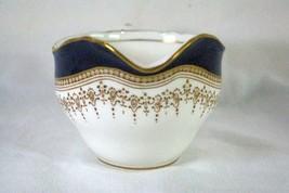 Royal Worcester Regency Blue Creamer #21686 image 2