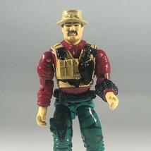 """GI Joe Action Figure 1992 Bazooka Missile Specialist 3.75"""" Vintage Hasbro - $14.84"""
