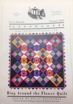 Ring around the flower quilt by Holly Holderman - $3.00