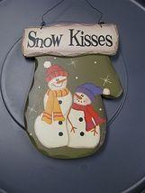 89681 - Large Snow Kisses Wood Mitten  - $6.95