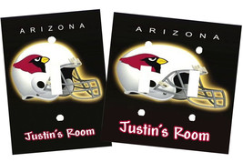PERSONALIZED ARIZONA CARDINALS FOOTBALL SPORTS LIGHT SWITCH PLATE COVER - $9.50+