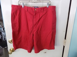 Chaps Red Flat Front Shorts Size 38 Men's Euc - $23.78