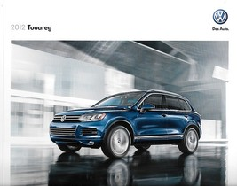 2012 Volkswagen TOUAREG brochure catalog US 12 VR6 HYBRID TDI Executive VW - $9.00