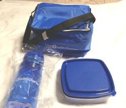 Insulated Lunch Bag Set-Blue_NEW-Live it with Charter With Accesories - $10.95