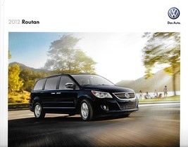 2012 Volkswagen ROUTAN sales brochure catalog US 12 VW SE SEL Premium - $9.00