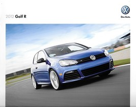 2012 Volkswagen GOLF R 2nd Edition sales brochure catalog 12 US VW - $12.00