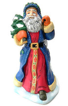 Partylite St Nikolaus Santa Claus Collection Candle Holder with Sled - $29.69