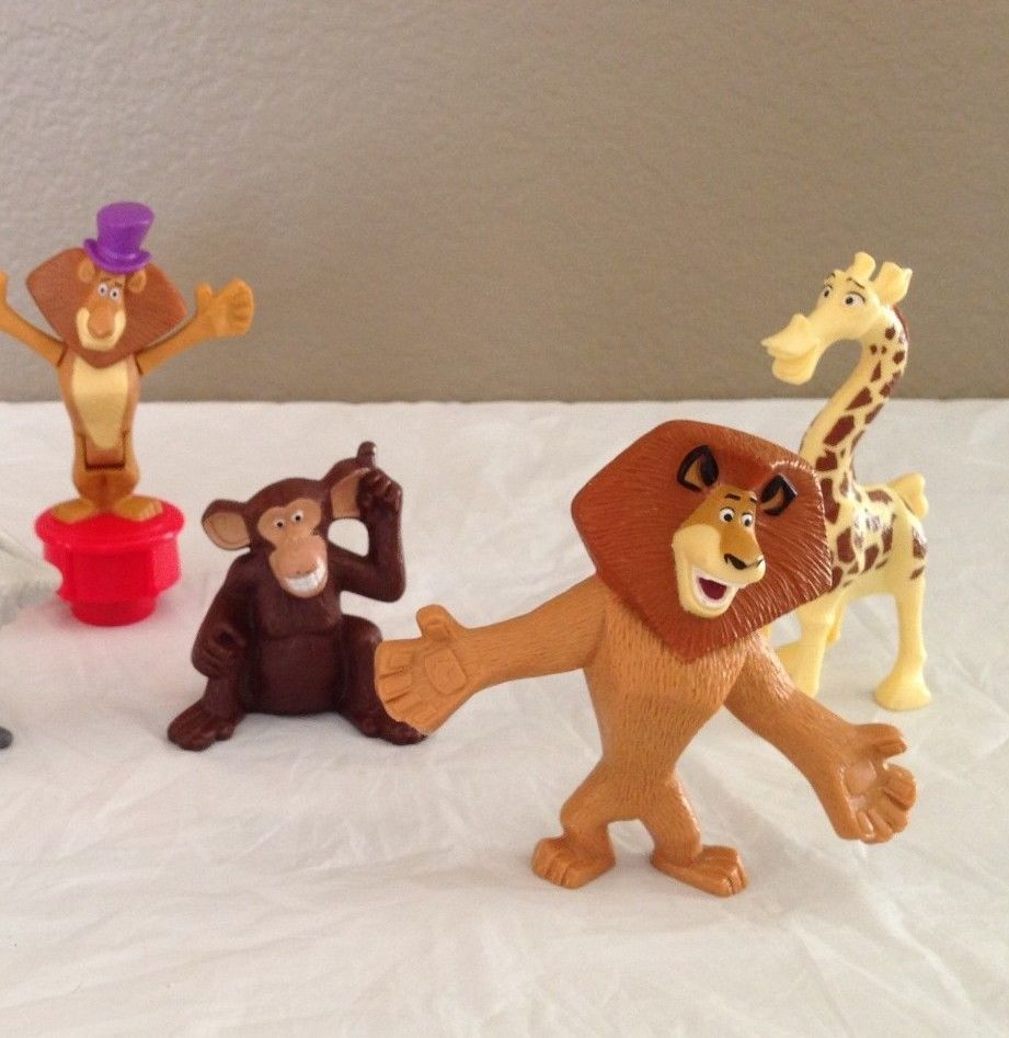 Madagascar Cake Toppers