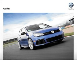 2012 Volkswagen GOLF R 1st Edition sales brochure catalog 12 US VW - $9.00