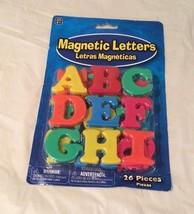 Ja-Ru Colorful Plastic Magnetic Alphabet for ag... - $5.00