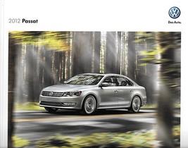 2012 Volkswagen PASSAT brochure catalog US 12 VW TDI V6 Premium - $8.00