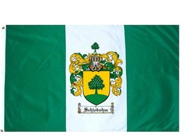 Schlobohm Coat of Arms Flag / Family Crest Flag - $29.99