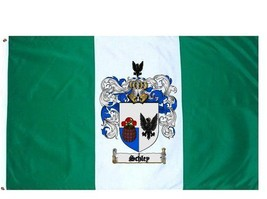 Schley Coat of Arms Flag / Family Crest Flag - $29.99