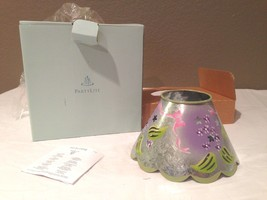 NIB PartyLite Lilac Meadows Hand Painted Metal Shade for Jar Candle P7728 - $10.00