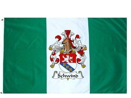 Schwind Coat of Arms Flag / Family Crest Flag - $29.99