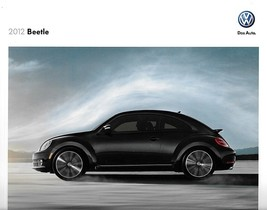 2012 Volkswagen BEETLE sales brochure catalog US 12 VW 2.5L Turbo - $9.00