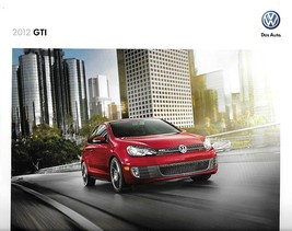 2012 Volkswagen GTI sales brochure catalog US 12 VW 2.0T Autobahn - $9.00