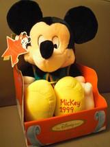 """Disney's  Mickey Mouse """"A Season to Remember"""" 1999 Plush NIB - $25.00"""