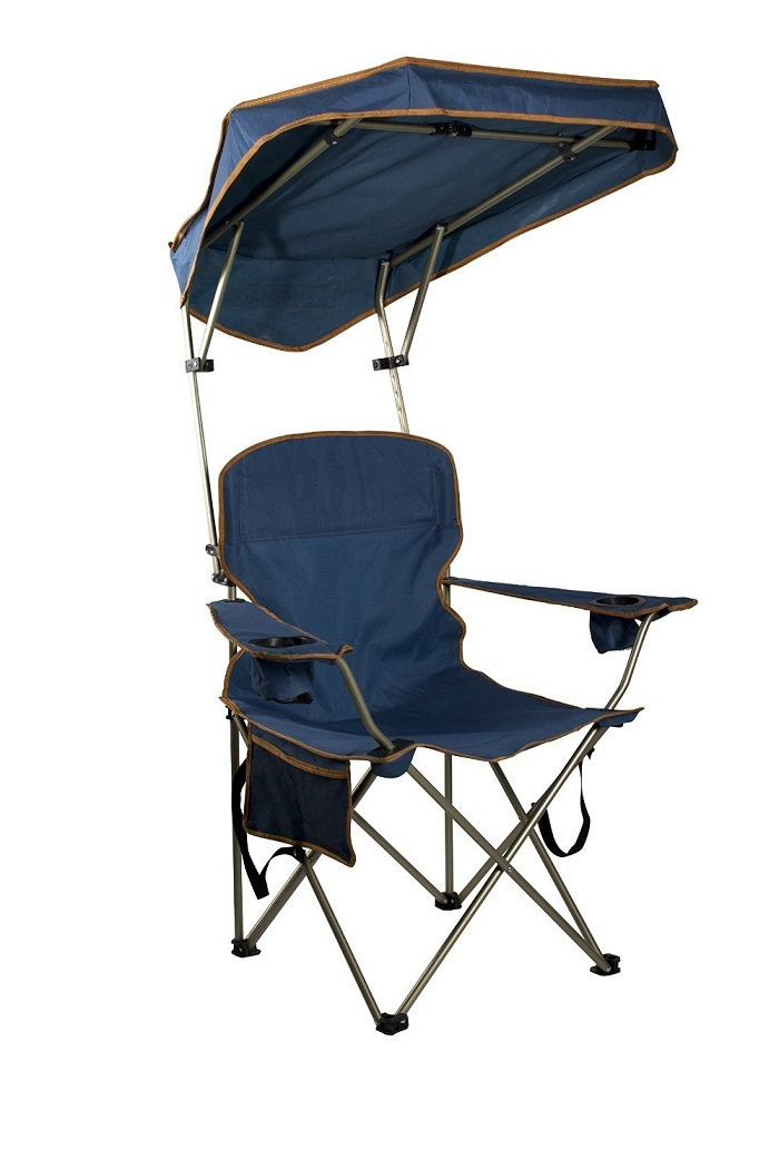 Camping Chair Shade Outdoor Portable Fishing Stool Seat Sun Protection