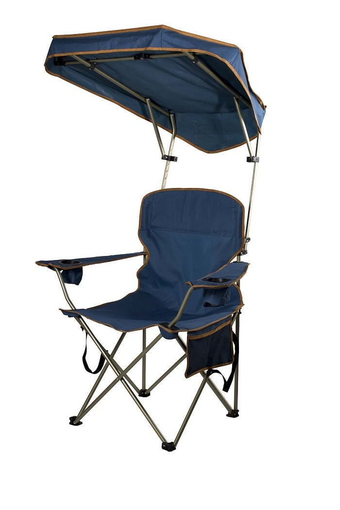 Camping chair shade outdoor sun protection