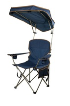 Camping Chair Shade Outdoor Portable Fishing Stool Seat Sun Protection - $59.99