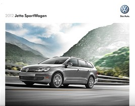 2012 Volkswagen JETTA SPORTWAGEN sales brochure catalog US 12 VW TDI wagon - $9.00