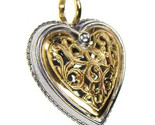 02001249p gerochristo 1249 gold silver heart pendant 1 thumb155 crop