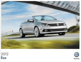 2012 Volkswagen EOS sales brochure catalog US 12 VW 2.0T Lux Executive - $9.00