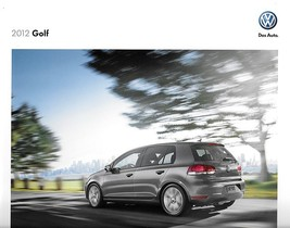 2012 Volkswagen GOLF sales brochure catalog US 12 VW Rabbit TDI - $9.00