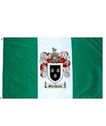 Strickland Coat of Arms Flag / Family Crest Flag - $29.99