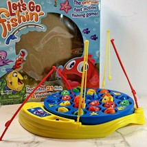 Let's Go Fishing Game Kids Preschool Catch Fish Motorized Action Complete in Box - $6.92