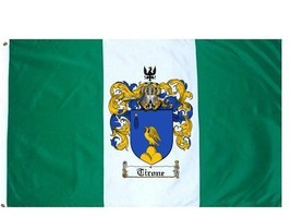 Tirone Coat of Arms Flag / Family Crest Flag - $29.99