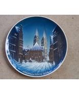 Rosenthal Weihnachten In Bremem Georg Kuspert 1968 Christmas Plate 9 - $24.00