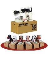 MECHANICAL HUNGRY DOG COIN BANK Choken Bako Doggy Puppy US SELLER Fun Ki... - $16.95