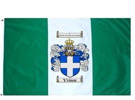 Vranas Coat of Arms Flag / Family Crest Flag - $29.99