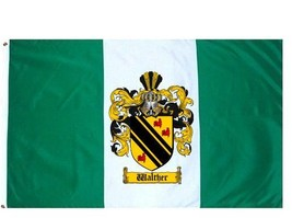 Walther Coat of Arms Flag / Family Crest Flag - $29.99