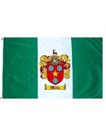 Wells Coat of Arms Flag / Family Crest Flag - $29.99
