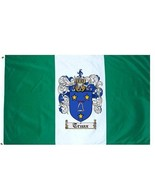 Truax Coat of Arms Flag / Family Crest Flag - $29.99